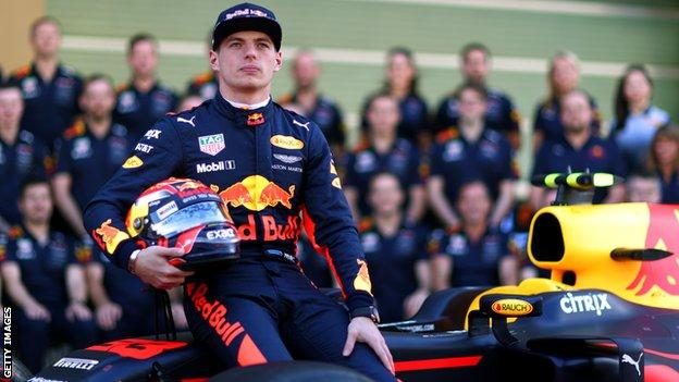 Re Bull driver Max Verstappen