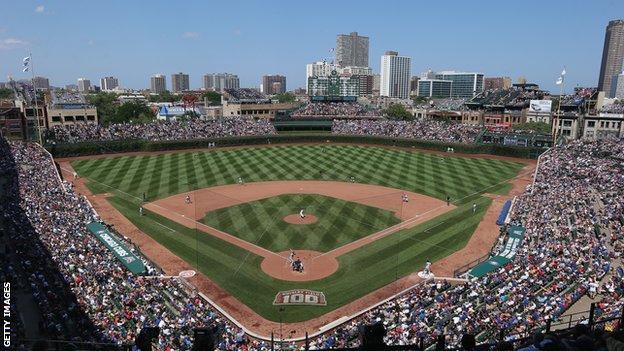 Wrigley Field Baseball Park