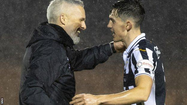 Irish forward Jamie McGrath has excelled under his compatriot Jim Goodwin this season