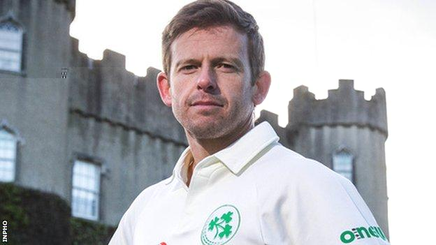 Former Ireland batsman Ed Joyce is coach of the country's women's team