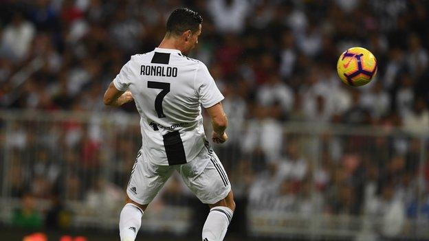 Juventus 1-0 AC Milan - Cristiano Ronaldo header wins Supercoppa for Juve