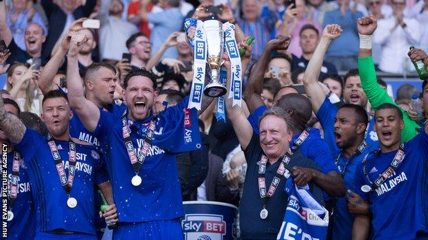 Neil Warnock led Cardiff to Premier League promotion at the end of the 2017-18 season