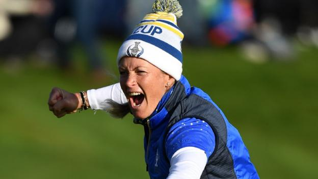 Solheim Cup: Suzann Pettersen says retirement was not planned
