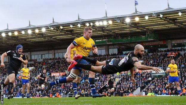 Exeter beat Bath