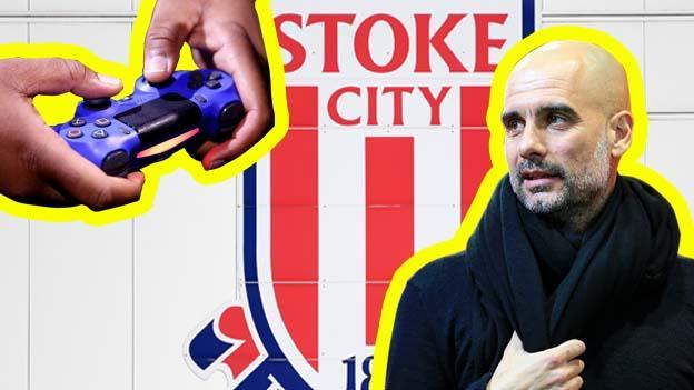 Pep at Stoke?