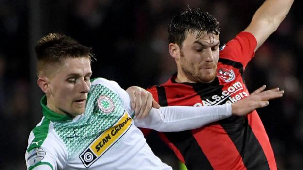 'There's no bigger game' - Reds manager Paddy McLaughlin on north best derby