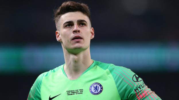 Kepa Arrizabalaga: Chelsea boss Sarri not decided if goalkeeper will start against Spurs thumbnail