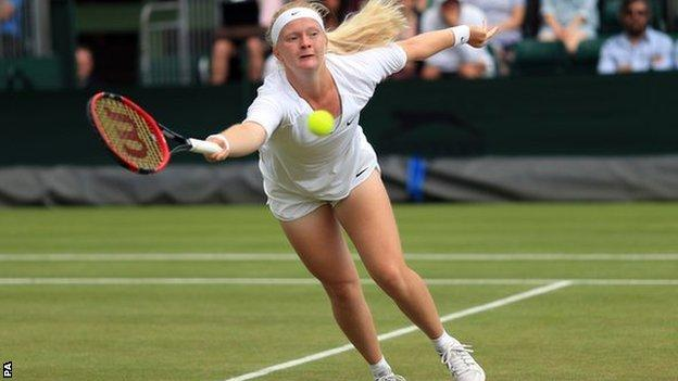 Francesca Jones, British tennis player