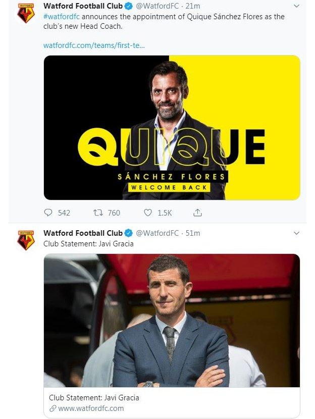 Watford on Twitter