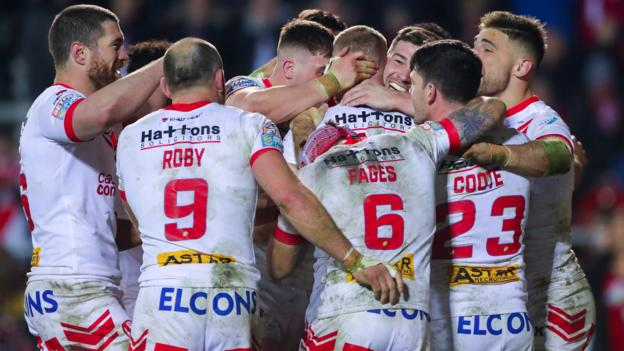 Super League: St Helens 27-22 Leeds Rhinos thumbnail