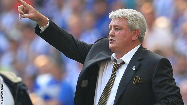 Steve Bruce has won promotion to the Premier League four times