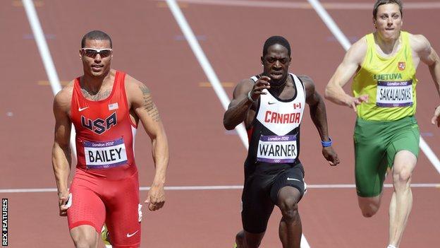 Ryan Bailey (left)