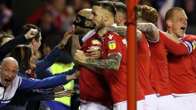 Nottingham Forest 1-0 Derby County: Yohan Benalouane settles East Midlands derby thumbnail