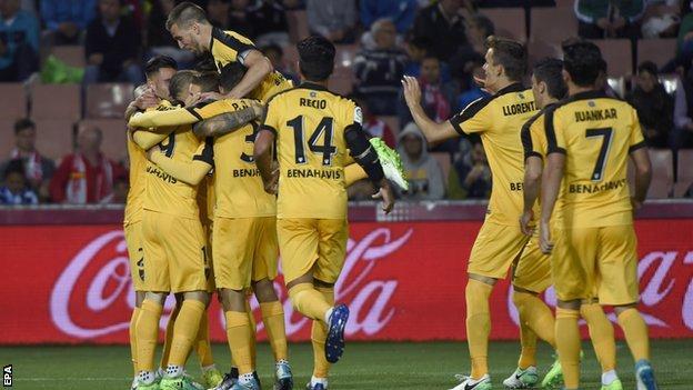 Malaga celebrate