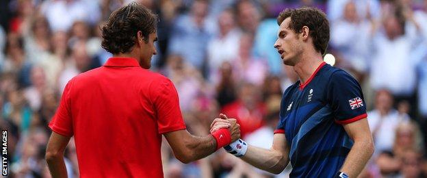 Murray beat Federer to win Olympic gold