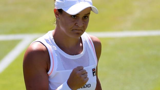 Wimbledon 2019: Ashleigh Barty and Sloane Stephens ease into round three thumbnail