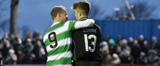 Leigh Griffiths (left) and Max Currie