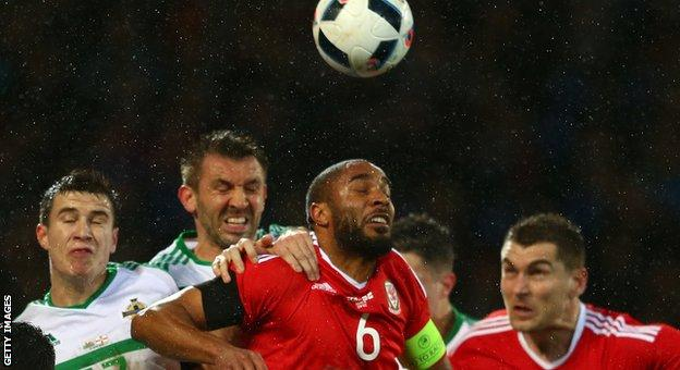 Wales earn late draw against Northern Ireland