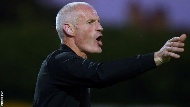 Derry City's caretaker manager Paul Hegarty