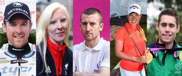 Alastair Seeley, Kelly Gallagher, Paddy Barnes, Stephanie Meadow and Jason Smyth will lose the Sport NI living costs funding