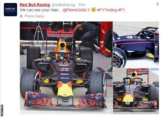 Red Bull tweet