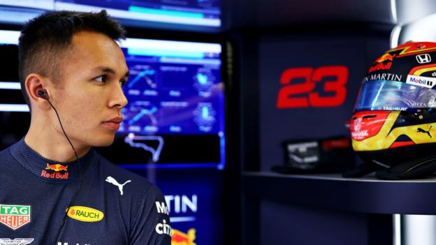 Red Bull 'spit drivers out' - Hamilton wants Albon to be given more support than previous incumbents