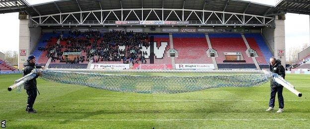 Wigan posts