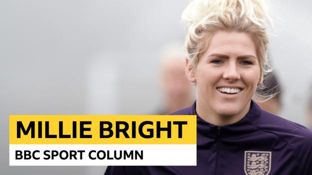 Millie Bright column: 'I kept refreshing Twitter to get World Cup confirmation' thumbnail