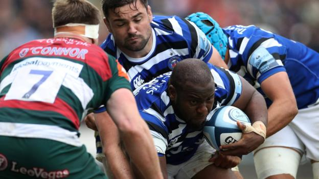 Premiership: Bath snatch 32-31 win at Leicester to finish sixth thumbnail