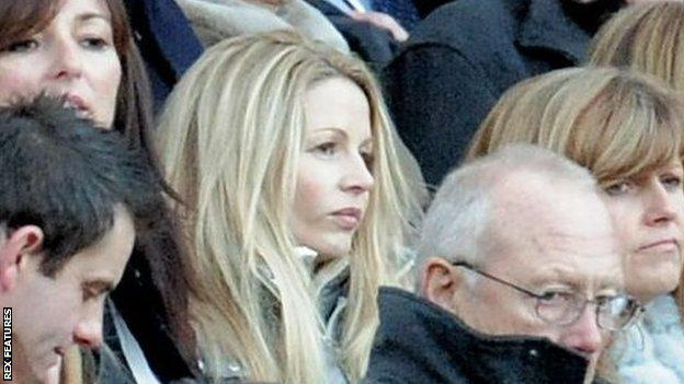 Louise Speed pictured at St James' Park in 2011