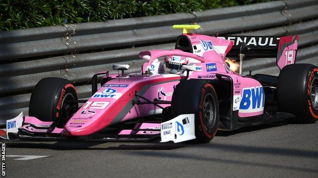 Anthoine Hubert wins at Monaco