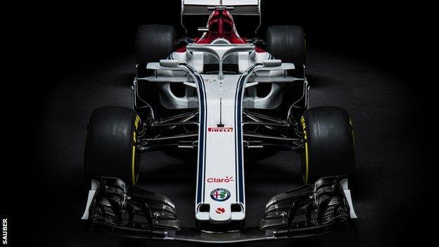 Sauber's new car