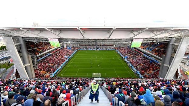 Ekaterinburg Arena in Russia
