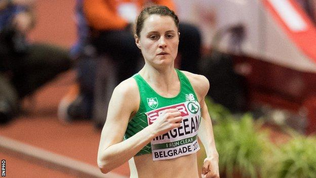 Ciara Mageean is now training with Steve Vernon's New Balance team in Manchester