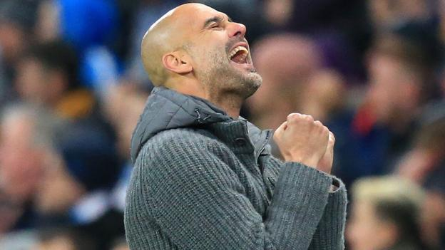 Man City 2-0 Cardiff: Champions return to top of Premier League thumbnail