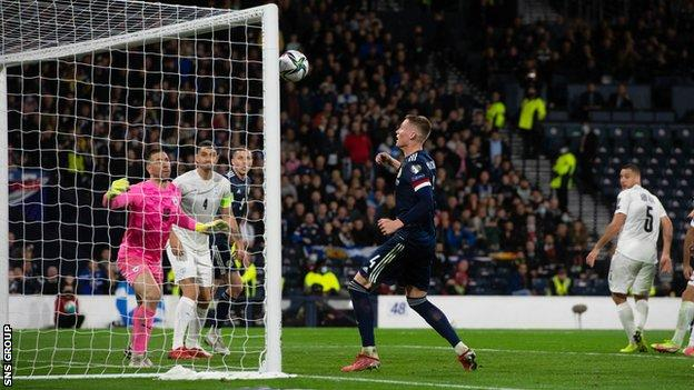 Scott McTominay scores for Scotland in stoppage time against Israel