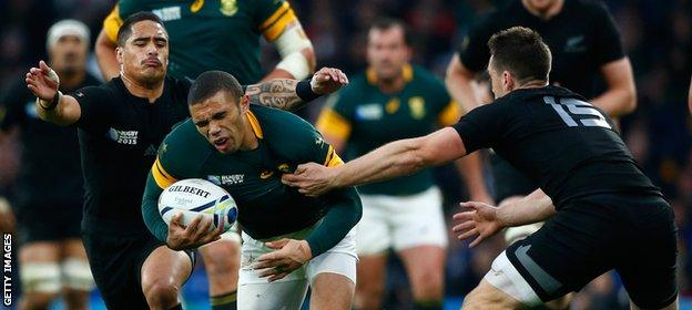 New Zealand reach Rugby World Cup 2015 final