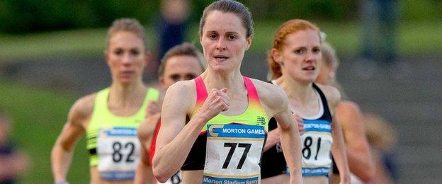 Ciara Mageean eased to victory in Sunday's 800m final at Morton Stadium