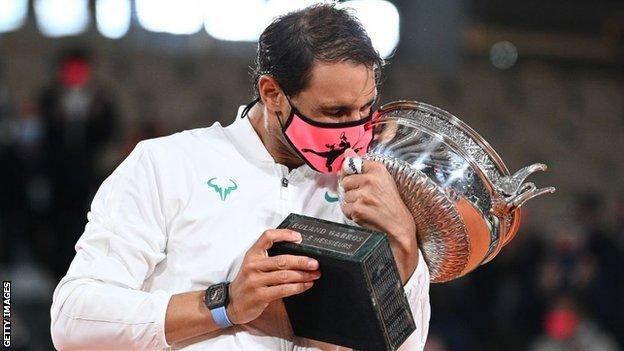 nadal with trophy