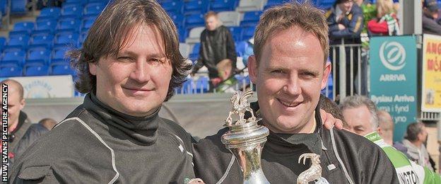 Craig Harrison and Carl Darlington