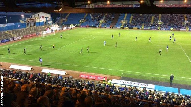 Carlisle return to Brunton Park
