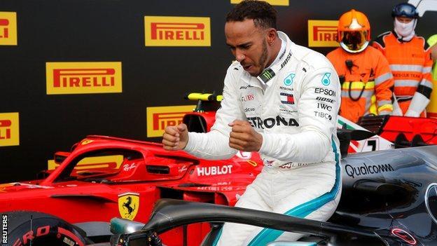 Lewis Hamilton wins the French Grand Prix