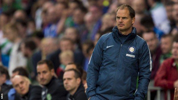 Frank de Boer in his time at Inter Milan