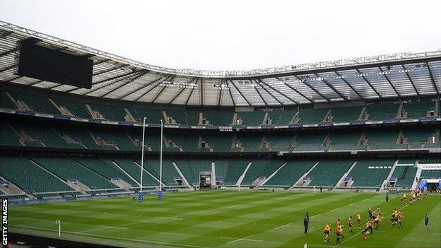 England v Barbarians: Match in doubt after bubble breach