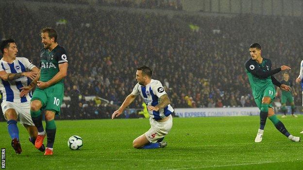 Tottenham - Brighton Hove Albion