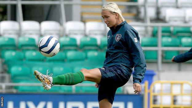 Republic of Ireland international Stephanie Roche