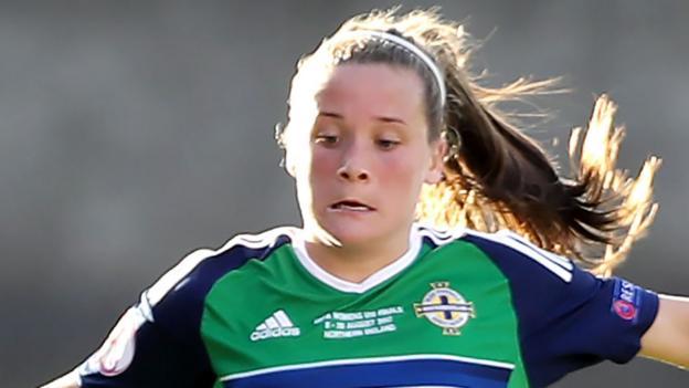 Northern Ireland women draw 1-1 against Romania in Turkish tournament