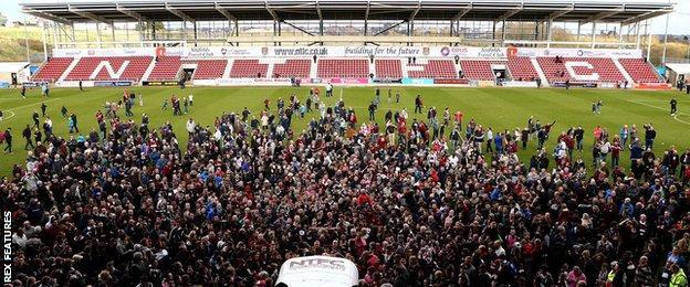 Northampton fans