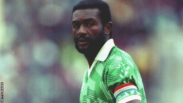 Former Cameroon captain Stephen Tataw