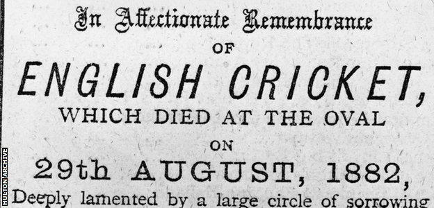An excerpt of The Sporting Times' mock death announcement